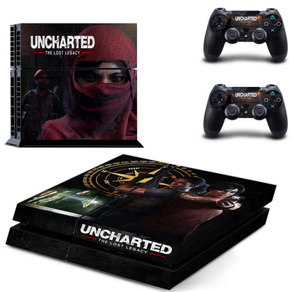 PlayStation PS4 Unchartered Skin Sticker - Game Vinyl