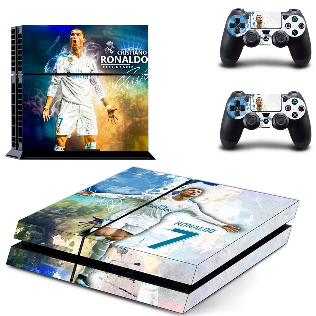 C. Ronaldo PS4 Skin Sticker Wrap