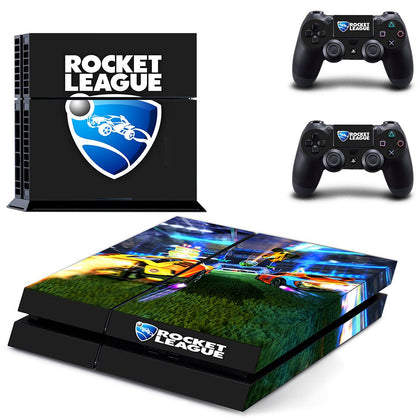 PlayStation PS4 Rocket League Skin Sticker - Game Vinyl