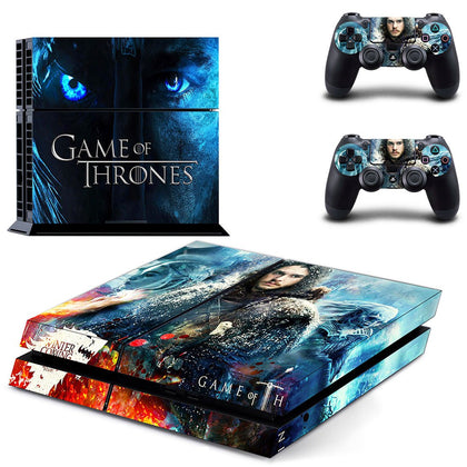 PlayStation PS4 Game Of Thrones Skin Sticker - Popculture Vinyl