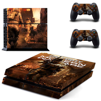 PlayStation PS4 Call Of Duty Skin Sticker - Game Vinyl