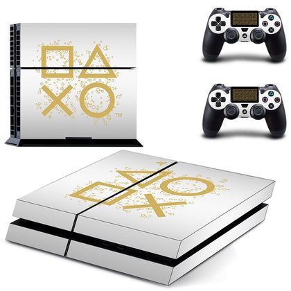 PlayStation PS4 PlayStation Design Skin Sticker - Design Vinyl