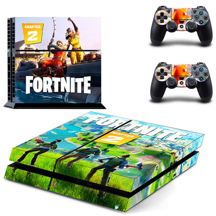 PlayStation PS4 Fortnite Skin Sticker - Game Vinyl