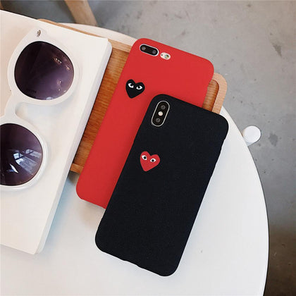 CDG Heart Logo iPhone Case