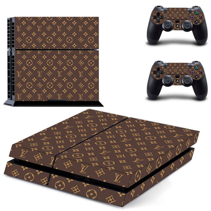 PlayStation PS4 Louis Vuitton Monogram  Skin Sticker - Popculture Vinyl