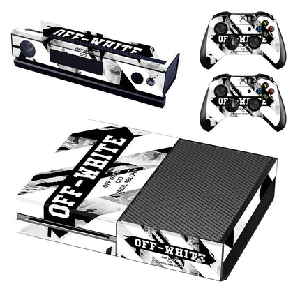 Xbox Xbox One Offwhite Stripes  Skin Sticker - Popculture Vinyl