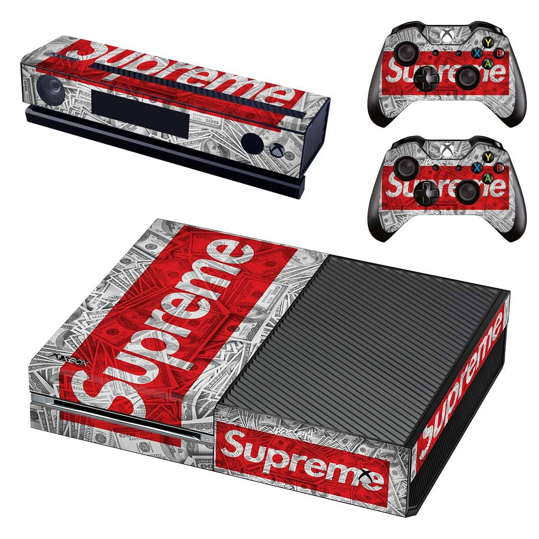 Supreme Cash Xbox One Skin Sticker Wrap
