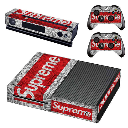 Xbox Xbox One Supreme Cash  Skin Sticker - Popculture Vinyl