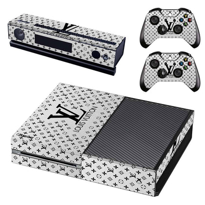 Xbox Xbox One Louis Vuitton Monogram LV Silver  Skin Sticker - Popculture Vinyl