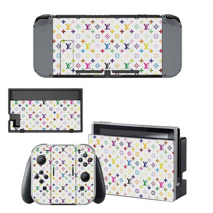 Nintendo Nintendo Switch Louis Vuitton Monogram Colour  Skin Sticker - Popculture Vinyl