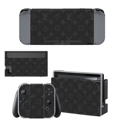 Nintendo Nintendo Switch Louis Vuitton Monogram Eclipse  Skin Sticker - Popculture Vinyl