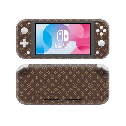 Nintendo Nintendo Switch Lite Louis Vuitton Monogram  Skin Sticker - Popculture Vinyl