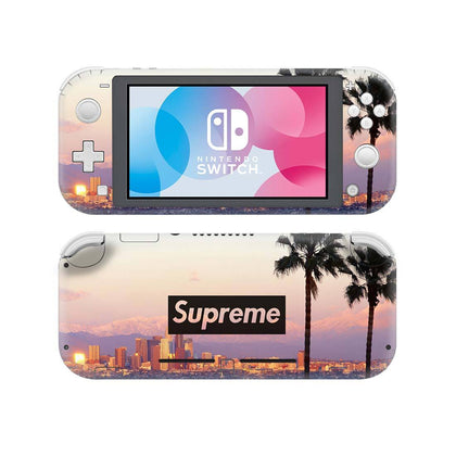 Nintendo Nintendo Switch Lite Supreme Palm Tree  Skin Sticker - Popculture Vinyl