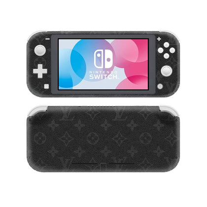 Nintendo Nintendo Switch Lite Louis Vuitton Monogram Eclipse  Skin Sticker - Popculture Vinyl