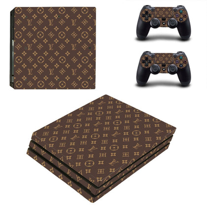 PlayStation PS4 Pro Louis Vuitton Monogram  Skin Sticker - Popculture Vinyl