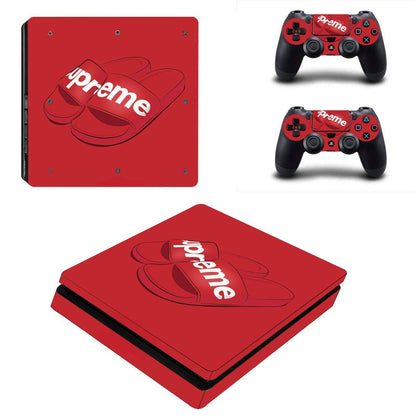 PlayStation PS4 Slim Supreme Slides  Skin Sticker - Popculture Vinyl