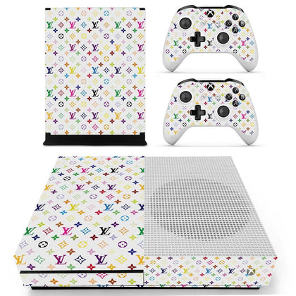 Xbox Xbox One S Louis Vuitton Monogram Colour  Skin Sticker - Popculture Vinyl