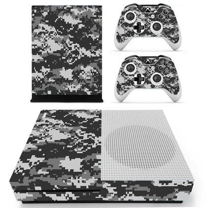 Xbox Xbox One S Camo Skin Sticker - Design Vinyl