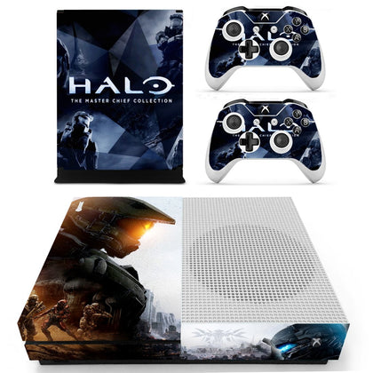 Xbox Xbox One S Halo Skin Sticker - Game Vinyl