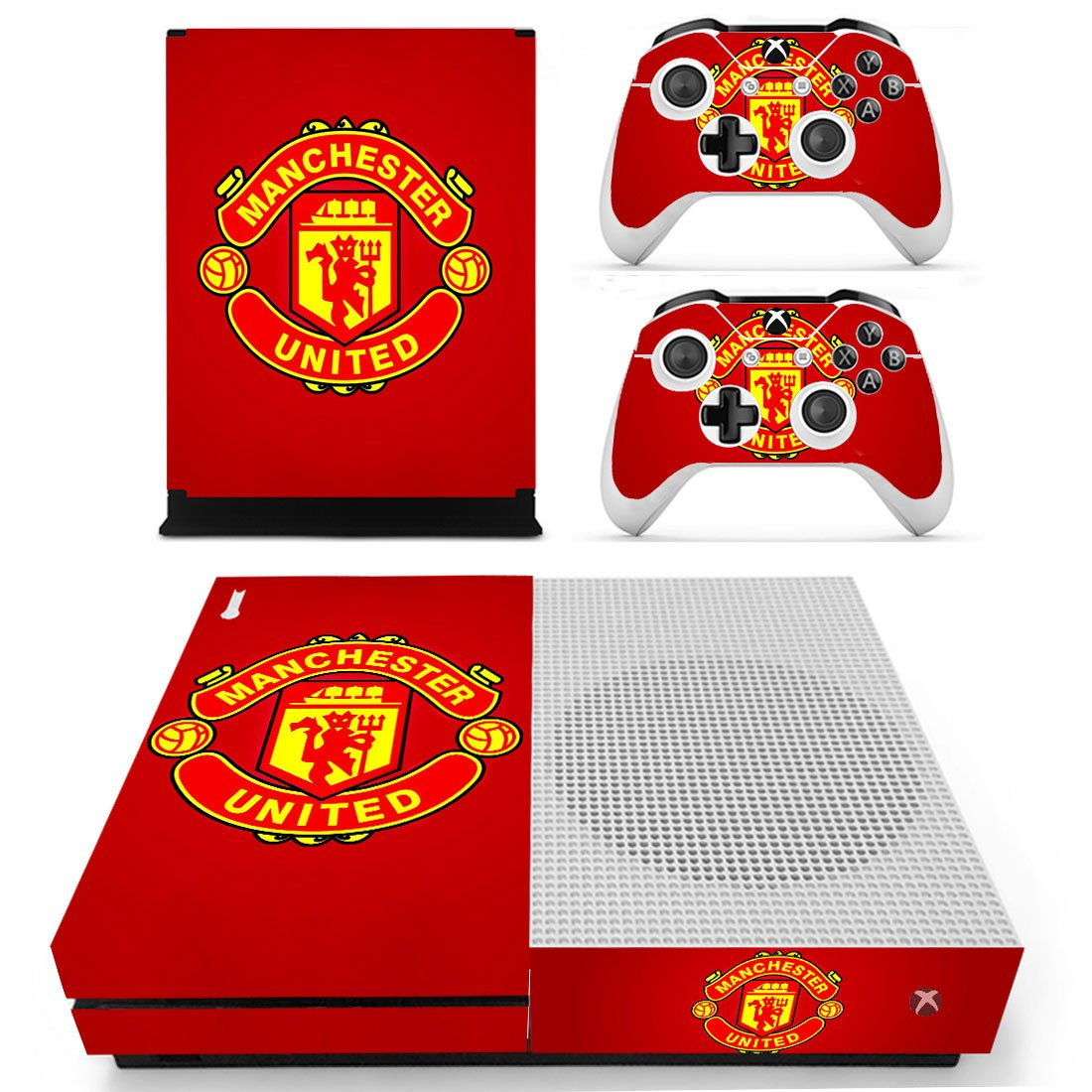 Manchester United Xbox One S Skin Sticker Wrap