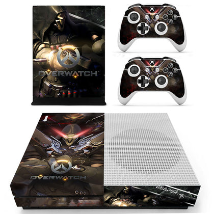 Xbox Xbox One S Overwatch Skin Sticker - Game Vinyl