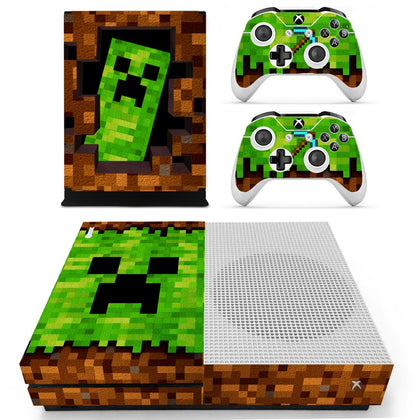 Xbox Xbox One S Minecraft Skin Sticker - Game Vinyl