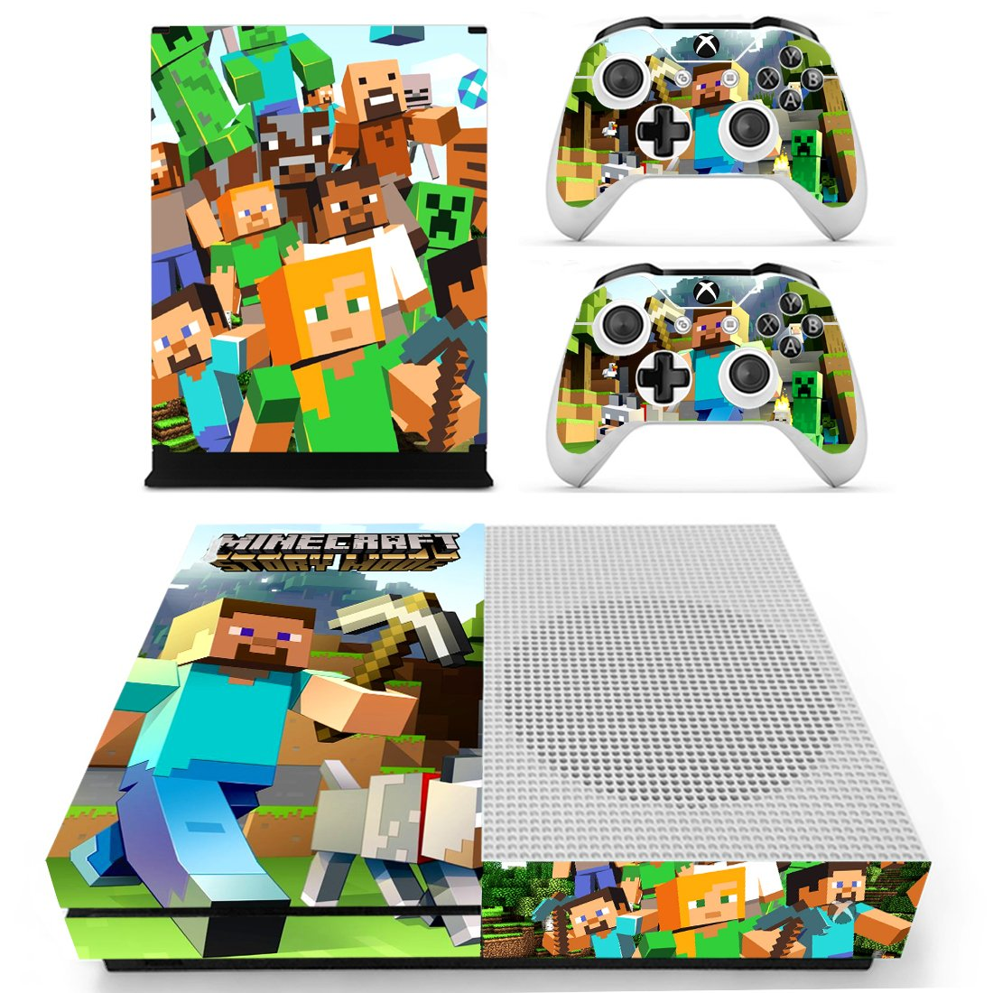 Minecraft Xbox One S Skin Sticker Wrap