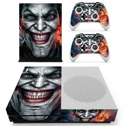 Xbox Xbox One S Joker Skin Sticker - Superhero Vinyl