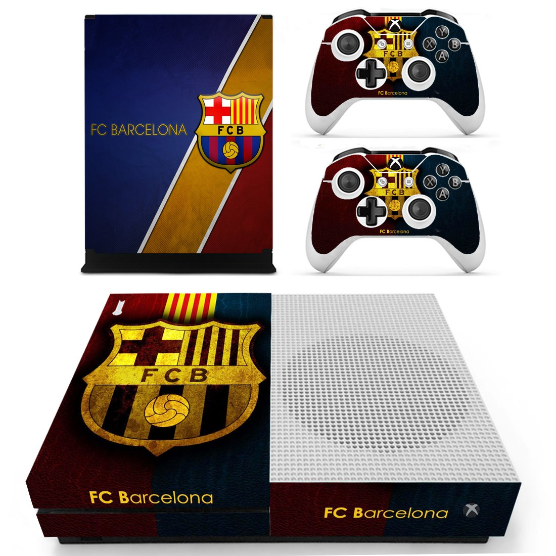 Barcelona Xbox One S Skin Sticker Wrap