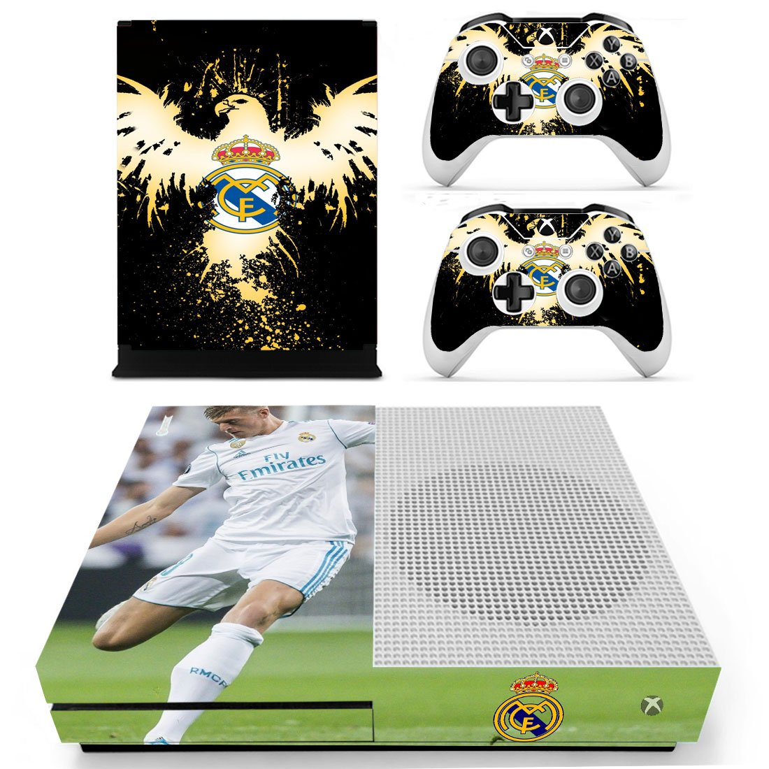 Real Madrid Xbox One S Skin Sticker Wrap