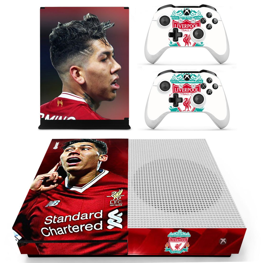 Liverpool Xbox One S Skin Sticker Wrap