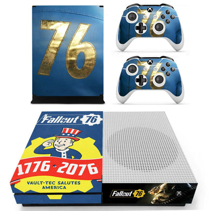 Xbox Xbox One S Fallout Skin Sticker - Game Vinyl