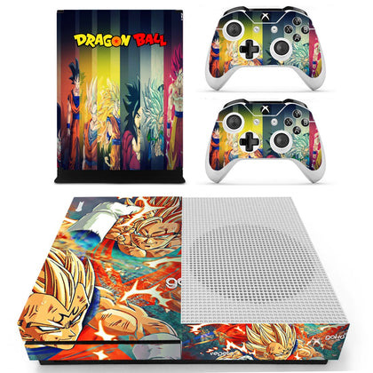 Xbox Xbox One S Dragon Ball Skin Sticker - Anime Vinyl