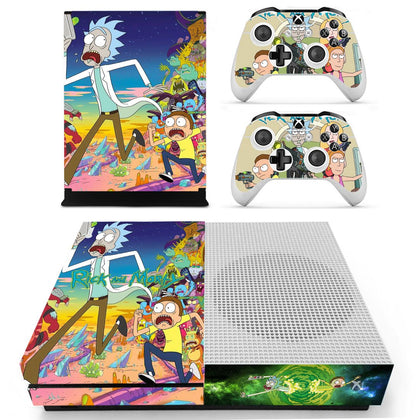 Xbox Xbox One S Rick And Morty Skin Sticker - Anime Vinyl