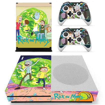 Xbox Xbox One S Rick And Morty Skin Sticker - Game Vinyl