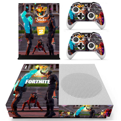 Xbox Xbox One S Fortnite Skin Sticker - Game Vinyl