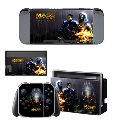 Nintendo Nintendo Switch Mass Effect Skin Sticker - Game Vinyl