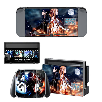 Nintendo Nintendo Switch Sword Art Online Skin Sticker - Anime Vinyl