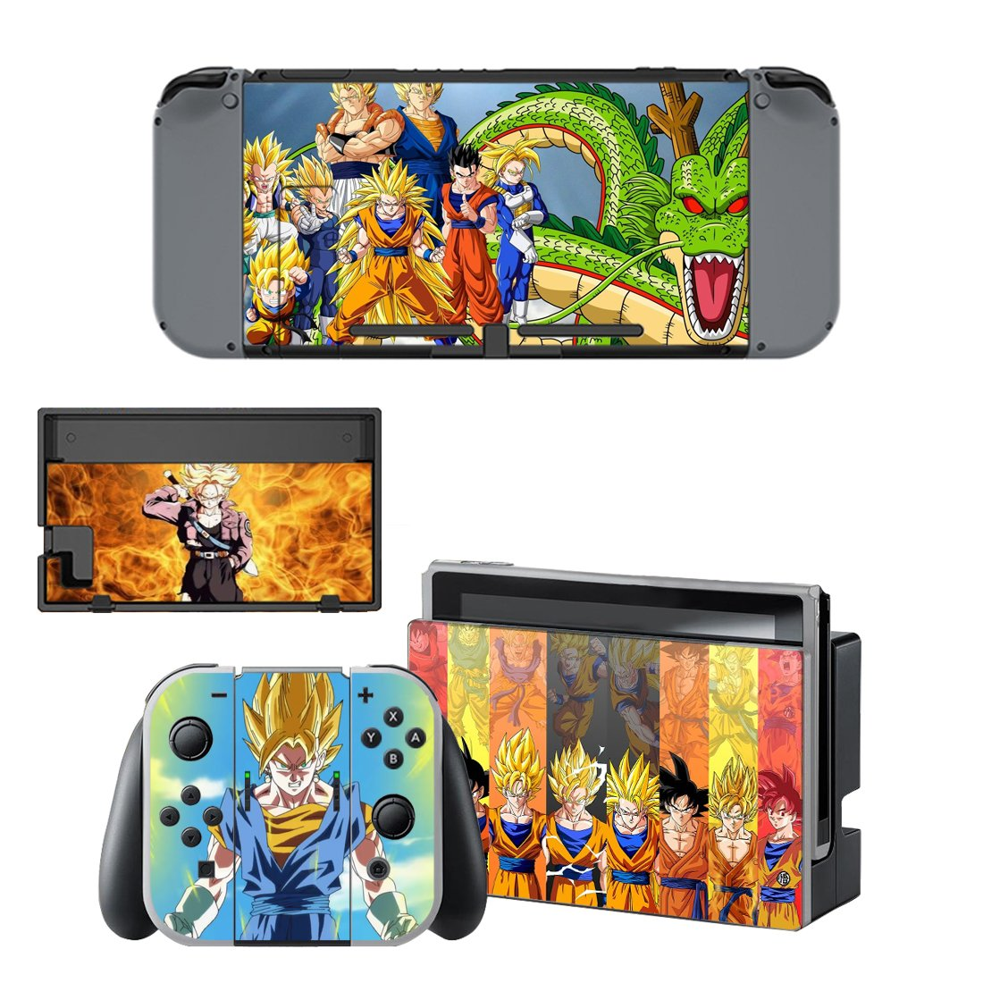 Dragon Ball Nintendo Switch Skin Sticker Wrap