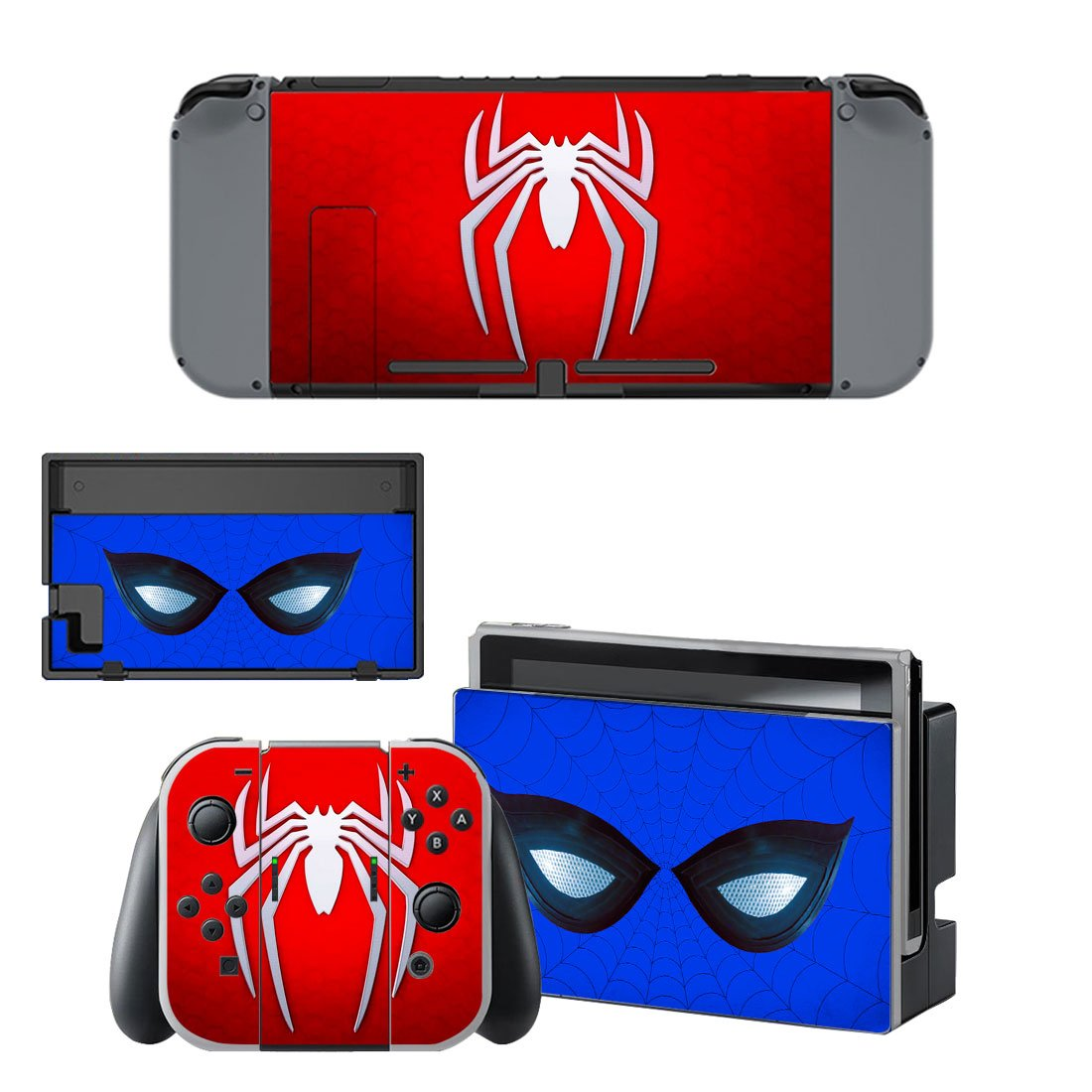 Spider-Man Nintendo Switch Skin Sticker Wrap