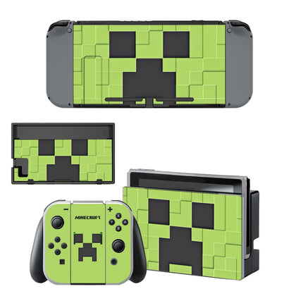 Nintendo Nintendo Switch Minecraft Skin Sticker - Game Vinyl