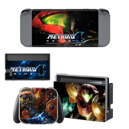 Nintendo Nintendo Switch Metroid Skin Sticker - Game Vinyl
