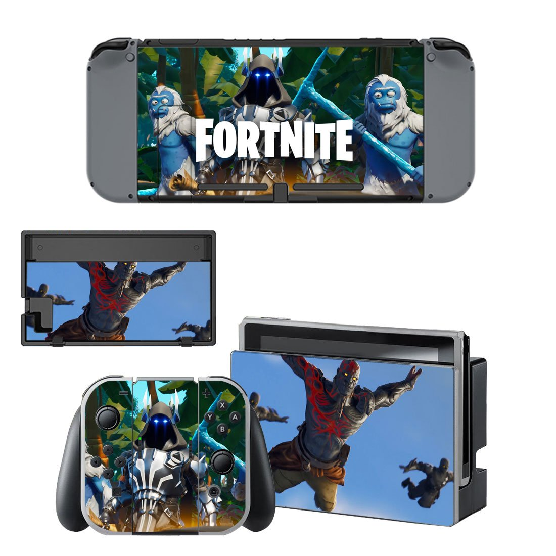 Fortnite Nintendo Switch Skin Sticker Wrap