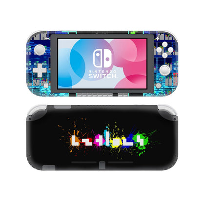 Nintendo Nintendo Switch Lite Tetris Skin Sticker - Game Vinyl