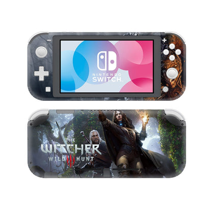Nintendo Nintendo Switch Lite Witcher Wild Hunt Skin Sticker - Game Vinyl