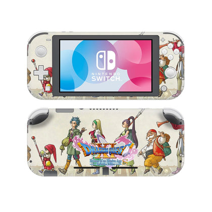 Nintendo Nintendo Switch Lite Dragon Quest Builders Skin Sticker - Game Vinyl