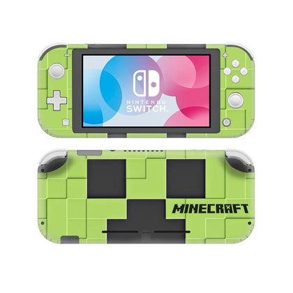Nintendo Nintendo Switch Lite Minecraft Skin Sticker - Game Vinyl