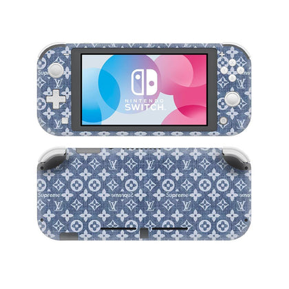 Nintendo Nintendo Switch Lite Louis Vuitton Monogram Denim  Skin Sticker - Popculture Vinyl