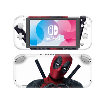Nintendo Nintendo Switch Lite Deadpool Skin Sticker - Superhero Vinyl