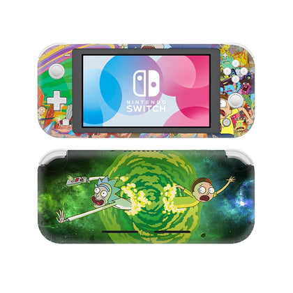 Nintendo Nintendo Switch Lite Rick And Morty Skin Sticker - Anime Vinyl